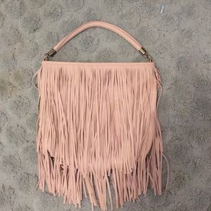 H&M pink leather purse